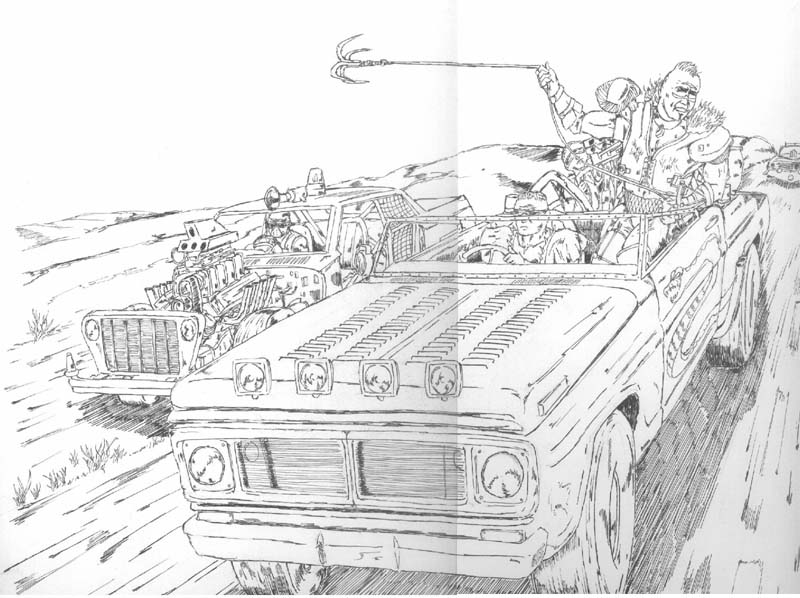Mad Max Fan Artwork Steve Funnell