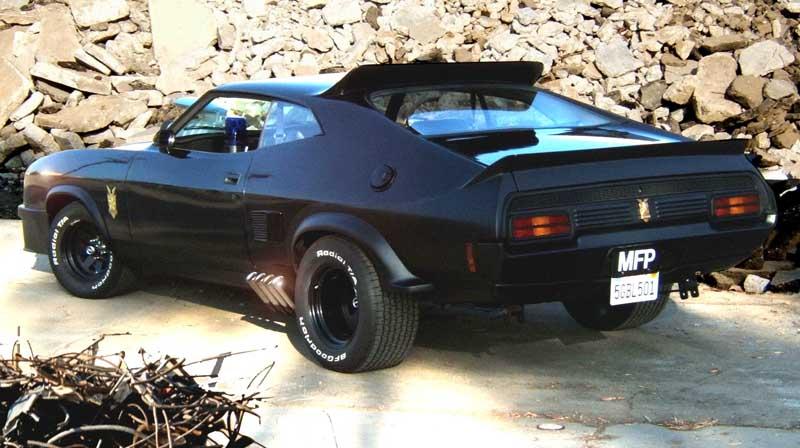 Mad Max Fan Cars Paul Miller S Black Interceptor Replica