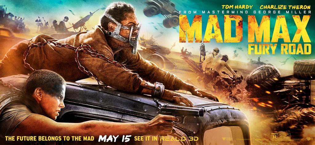 Mad Max Fury Road poster artwork