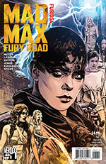 Mad Max Fury Road Vertigo Comics Issue 2 - Furiosa Cover