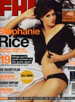 FHM September 2008, Stephanie Rice on the cover, Grant Page inside